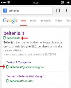 sito web responsive google