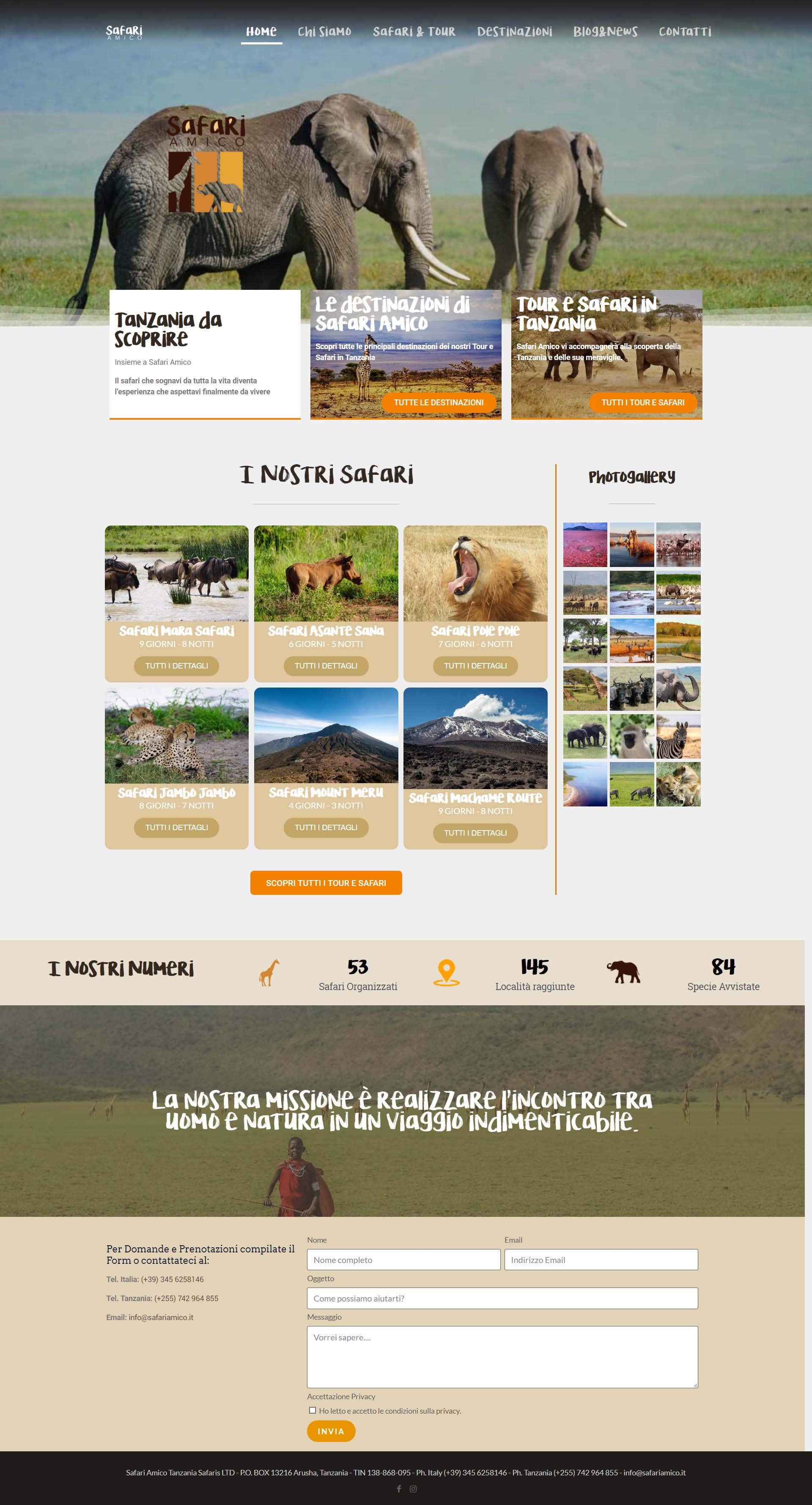 sito safari amico